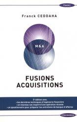 La couverture et les autres extraits de Fusions et acquisitions. Edition 2018
