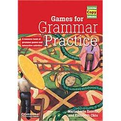 Games for Grammar Practice A Resource - Book of Grammar Games and Interactive Activities