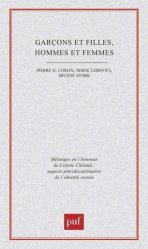 GARCONS ET FILLES, HOMMES ET FEMMES. Aspects pluridisciplinaires de l'identité sexuée