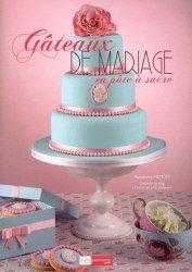 Gâteaux de mariage en pâte à sucre