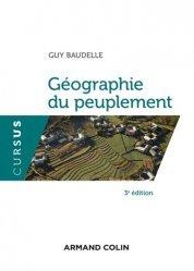 Géographie du peuplement. 3e édition