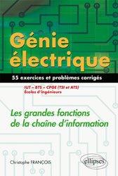 Génie électrique - 55 exercices et problèmes corrigés