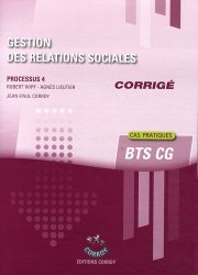 Gestion des relations sociales Processus 4 du BTS CG