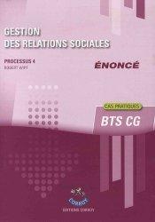 Gestion des relations sociales Processus 4du BTS CG