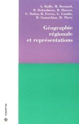 Géographie régionale et représentations