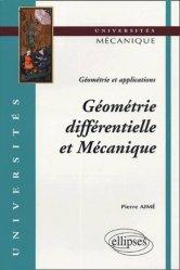 Géométrie différentielle et Mécanique