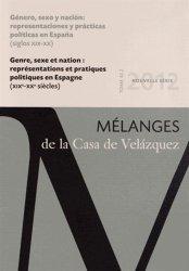 Genre, sexe et nation : représentations et pratiques politiques en Espagne (XIXe-XXe siècles )