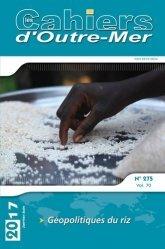 Géopolitiques du riz