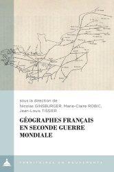 Géographes français en Seconde Guerre mondiale