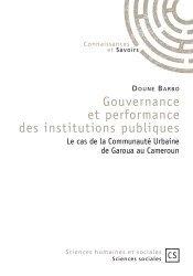Gouvernance et performance des institutions publiques