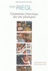 Grammaire historique des arts plastiques