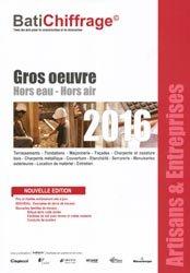 Gros oeuvre Hors eau - Hors air  2016