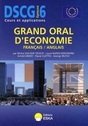 Grand oral d'économie français/anglais DSCG 6
