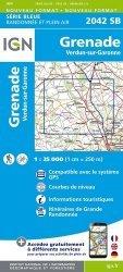 La couverture et les autres extraits de Montauban, Albi, PNR des Causses du Quercy (sud). 1/100 000