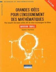 Grandes idées pour l'enseignement des mathématiques