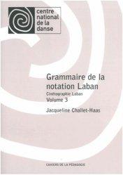 Grammaire de la notation Laban