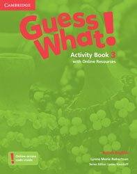 Guess What! Level 3 - Activity Book with Online Resources British English