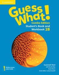 Guess What! Level 2 - Student's Book and Workbook B with Online Resources Combo Edition