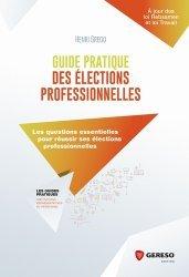 La couverture et les autres extraits de Guide pratique des élections professionnelles