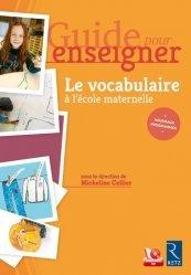 Guide pour enseigner le vocabulaire à l'école maternelle