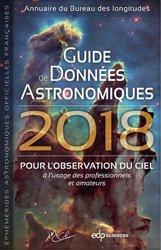 Guide de données astronomiques 2018