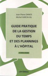 Guide pratique de la gestion du temps et des plannings à l'hôpital