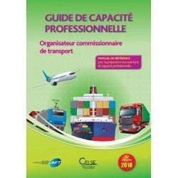 Guide de capacite professionnelle Organisateur commissionnaire de transport 2018