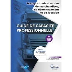 La couverture et les autres extraits de Guide de capacite professionnelle Organisateur commissionnaire de transport 2018