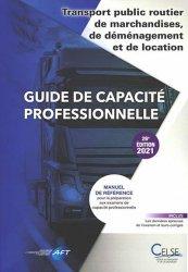 Guide de capacité professionnelle