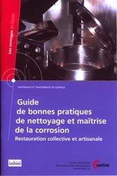 Guide de bonnes pratiques de nettoyage et maîtrise de la corrosion