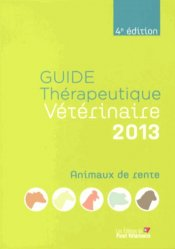 La couverture et les autres extraits de Dictionnaire des Médicaments Vétérinaires  2014