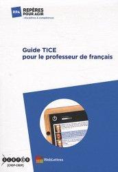 Guide TICE pour le professeur de français