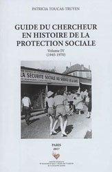 Guide du chercheur en histoire de la protection sociale
