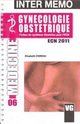 La couverture et les autres extraits de Gynécologie - Obstétrique