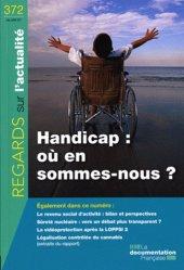 Handicap : où en sommes-nous