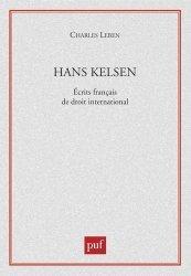 Hans Kelsen. Ecrits français de droit international