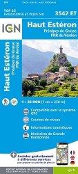 La couverture et les autres extraits de Névache Mont Thabor, Cols du Galibier et du Lautaret. 1/25 000, plastifiée-résistante