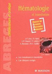 Hématologie et transfusion
