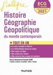Histoire Géographie Géopolitique du mondialisation contemporaine ECG 1re année