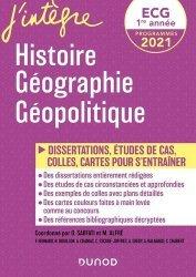 Histoire géographie géopolitique ECG 1re année