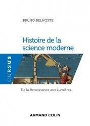 Histoire de la science moderne