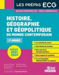 Histoire, géographie et géopolitique du monde contemporain