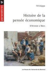Histoire de la pensée économique : d'Aristote à Marx