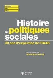Histoire des politiques sociales