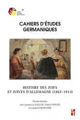 Histoire des juifs et juives d'allemagne (1867-1933)