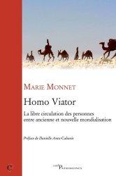 Homo Viator. La libre circulation des personnes entre ancienne et nouvelle mondialisation