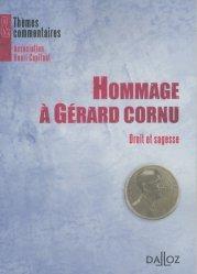 Hommage à Gérard Cornu