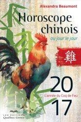 Horoscope chinois au jour le jour