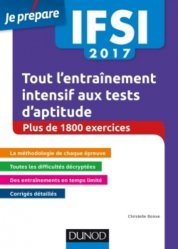 IFSI 2017 Tout l'entraînement intensif aux tests d'aptitude
