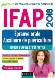 La couverture et les autres extraits de IFAP 2018 épreuve orale auxiliaire de puériculture